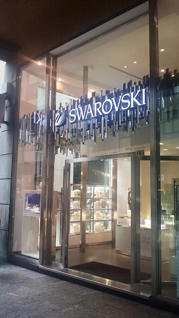 Franchising swarovski for Swarovski italia catalogo