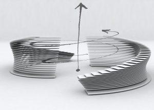 sculture allluminio su disegno di architetti e designer