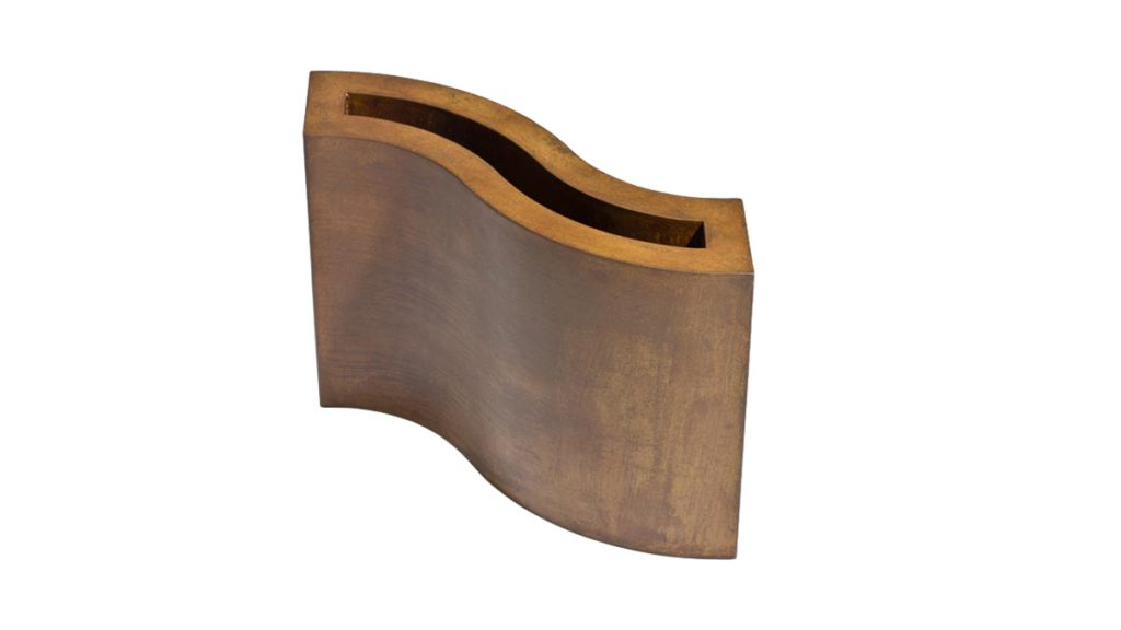 Handmade vases | Luxury metal decor and furnitures | Lamberti Design Italy - Fioriere e Vasi in acciaio corten su misura