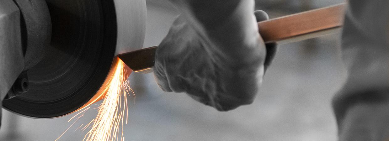 Lavorazione acciaio arredamento corten interior design waterjet