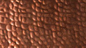 Rame martellato - finiture metalliche speciali rivestimenti lavorazioni metalli - Copper furniture manufacturers and metal interior designers,steel finishing services,metal polishing and custom finishing services