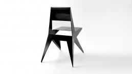 Sedia design in alluminio, poltroncine, sgabelli, sedute acciaio inox