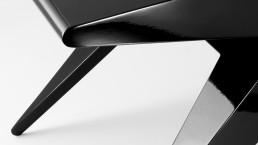 Luxury design chair | Metal furnishings hand made in Italy | Lamberti Design - Sedia design in alluminio, poltroncine, sgabelli, sedute acciaio inox