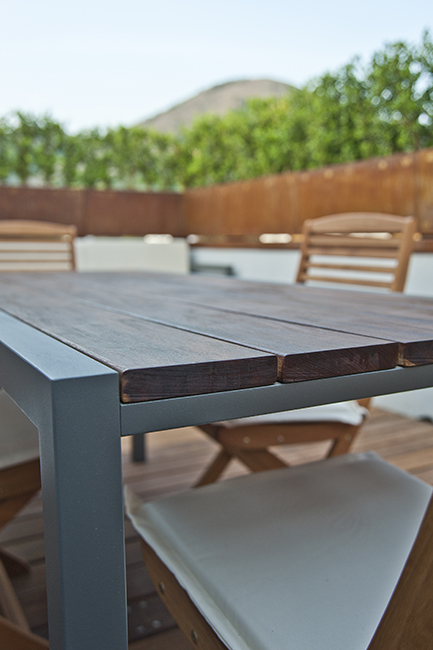 Patio furniture, outdoor furnitures, exclusive custom made metal furnishings - Arredo outdoor, arredamento esterni ville ed hotel di lusso in acciaio e metalli su misura