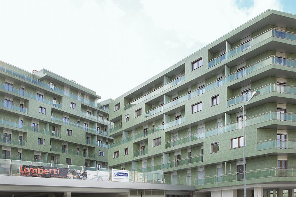 Balaustre acciaio ringhiere residenze private condomini arredo acciaio inox