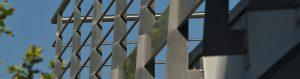 Custom steel balustrades, staircases and railings - metal furnishing - Balaustre acciaio vetro arredamento acciaio inox su misura taglio waterjet