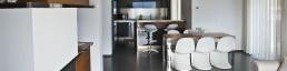 Interior design acciaio realizzazione su misura arredamento interni metallo
