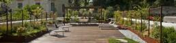 Corten furniture exclusive and custom design for gardens and terraces - Arredamento esterni ville ed hotel di lusso in acciaio e metalli su misura
