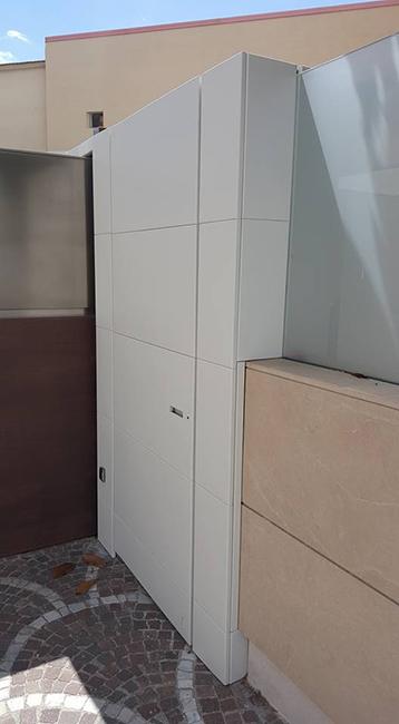 Corten furniture exclusive and custom design for gardens homes & condos - Arredamento esterni ville ed hotel di lusso in acciaio e metalli su misura