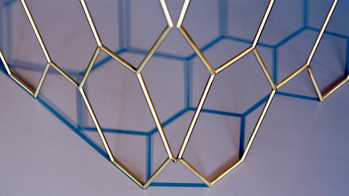Arredamento design casa ufficio consolle appendiabiti acciaio ottone legno - Contemporary metal furniture hand made in Italy with brass or steel - FAVO