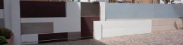 Corten furniture exclusive and custom design for gardens homes & condos -Arredamento esterni ville ed hotel di lusso in acciaio e metalli su misura