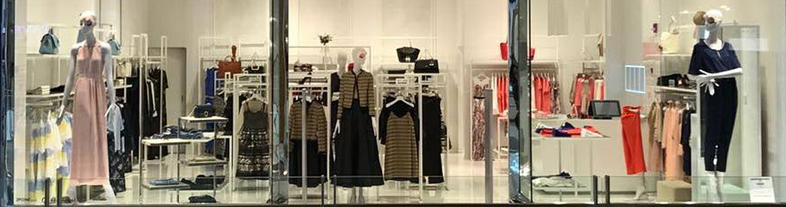 Retail furnishing - Fashion and Clothing stores racks, signage and fixtures
