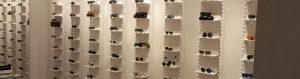 Metal Furniture Eyeglass Store - Arredamento negozi franchising lavorazione acciaio inox su misura