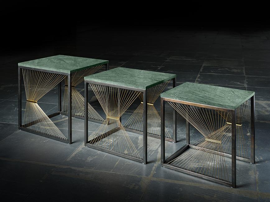 Prototipi design progettazione realizzazione artigianale arredi in metallo