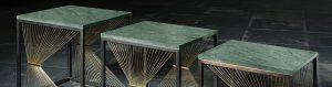 Luxury furniture collection - Idea, prototype and serial manufacturing in Italy - Prototipi design progettazione realizzazione artigianale arredi in metallo