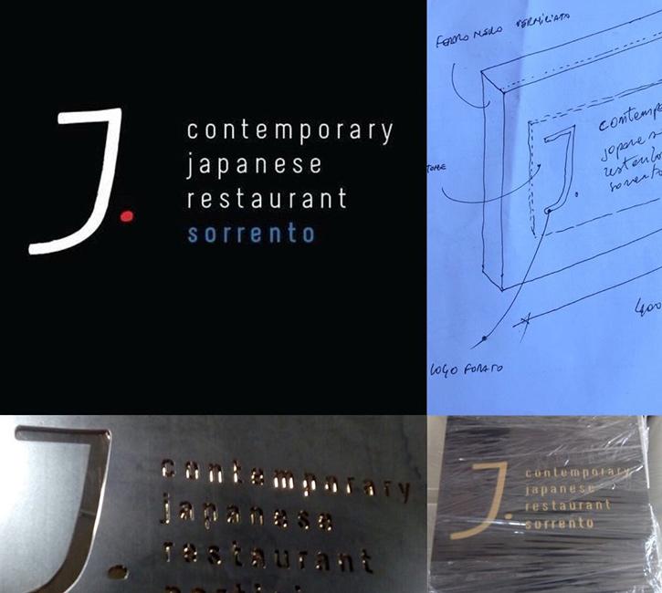 Arredamento ristoranti, sushi bar, hotel - lavorazione acciaio corten