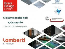 Fuorisalone 2018 - Lamberti presenta i suoi elementi d'arredo in metallo