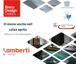 Fuorisalone 2018, Milan - Lamberti Design will exhibit the new collection of metal furnishings all handmade in Italy. Design tables, furnitures and objects - Fuorisalone 2018 - Lamberti presenta i suoi elementi d'arredo in metallo