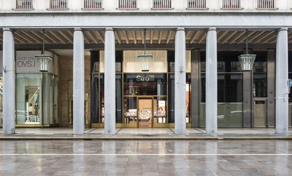 Arredamento gioiellerie - facciate, vetrine, interior design, arredo negozi