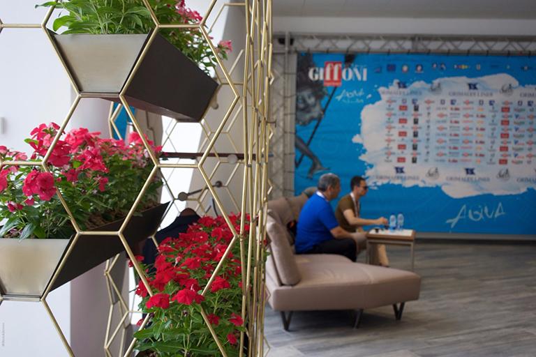Giffoni Film Festival - Lamberti Design will furnish the VIP lounge - GFF Experience - Lamberti Design espone FAVO di Daniele Della Porta.