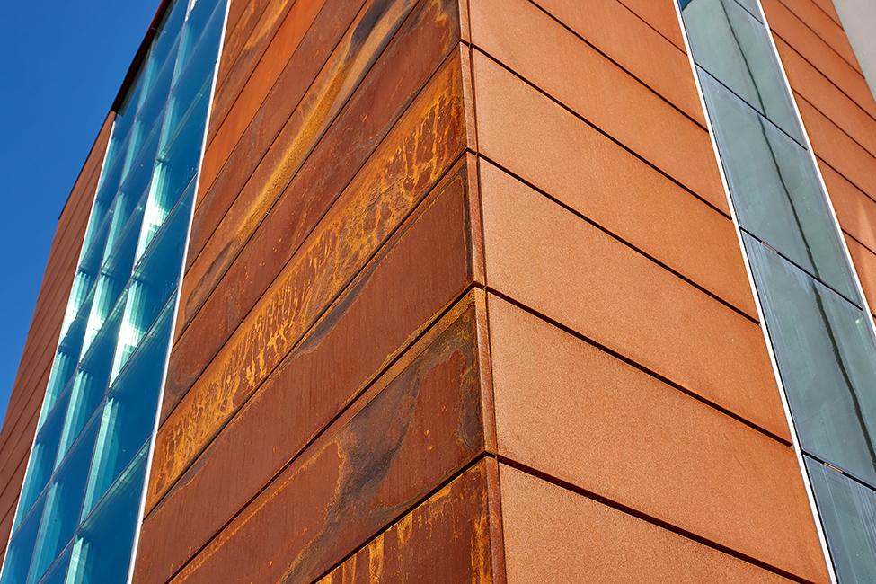 Elementi d'arredo Corten outdoor - Progettazione e realizzazione Lamberti Design