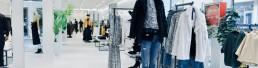 Arredamento negozi in acciaio brand Candida - Lamberti Design