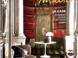 Marie Claire Maison - Console in marble, polished golden vintage steel and polished brass