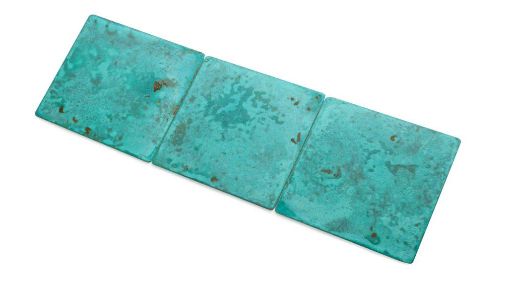 Metal finishing | Copper green | Brass Furnishings | Lamberti Design | Italy